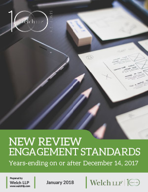 New Review Engagement Standards